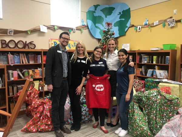 Toy Drive at Washington Shores Elementary School